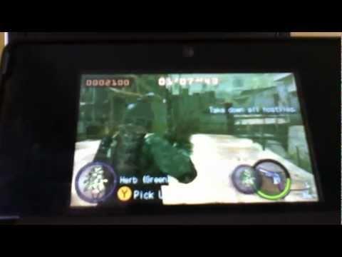 Resident Evil The Mercenaries 3d Character Customization Walkthrough (HD Enabled)