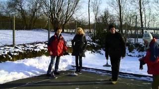 Eisstockschießen beim SV Adelby in Flensburg