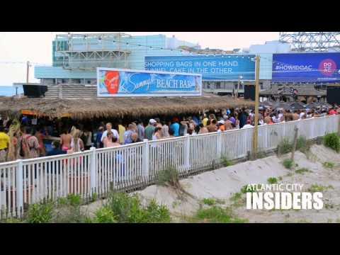 Atlantic City's Beach Bars