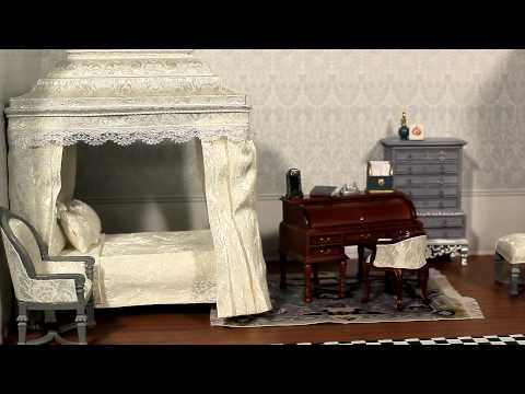 The Queen's Bedroom Diorama