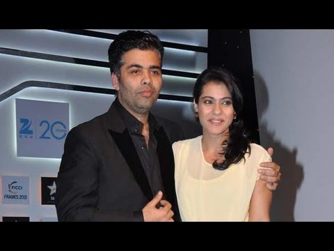 Karan Johar And Kajol At FICCI Frames