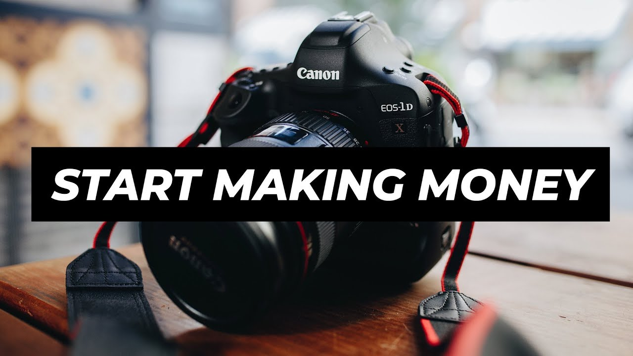 How to earn a novice photographer