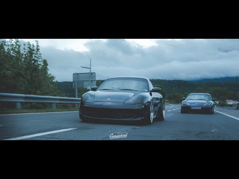 Wörthersee 2019 // Two bagged Porsche 911 996 // 4k