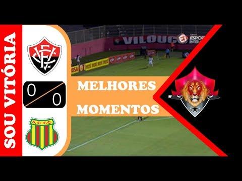Assistir melhores momentos Vitória 0 x 0 Sampaio Corrêa