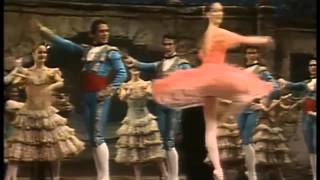 Now & Then - Don Quixote Act 1 Kitri variation compilation - 1940s-2010s Kirov/MT (mostly)