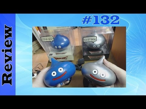 Hori Dragon Quest Slime Controller (Blue & Silver/Metal Versions) (PS2)
