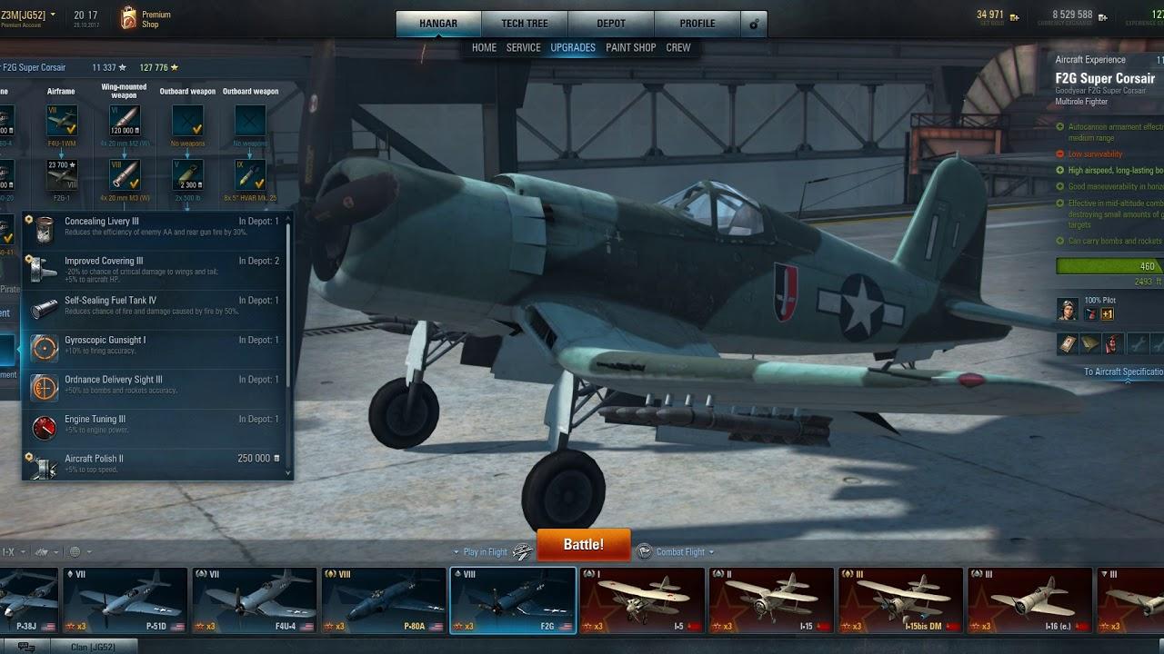 World Of Warplanes 2 0 Basic Guide To Equipment And Crew Skills Youtube