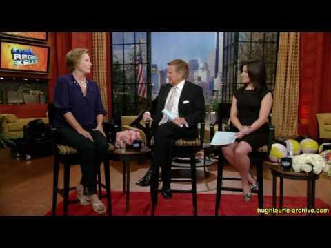 20100817- Emma Thompson on Regis & Kelly - about Hugh