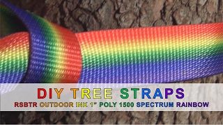 "Video DIY Tree Straps with RSBTR Outdoor Ink 1"" Poly 1500 in Spectrum Rainbow download MP3, 3GP, MP4, WEBM, AVI, FLV September 2018"