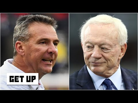 Urban Meyer and Jerry Jones would butt heads if he coached the Cowboys - Paul Finebaum | Get Up