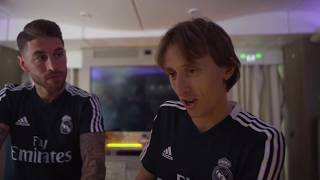 Real Madrid's football players funny moments