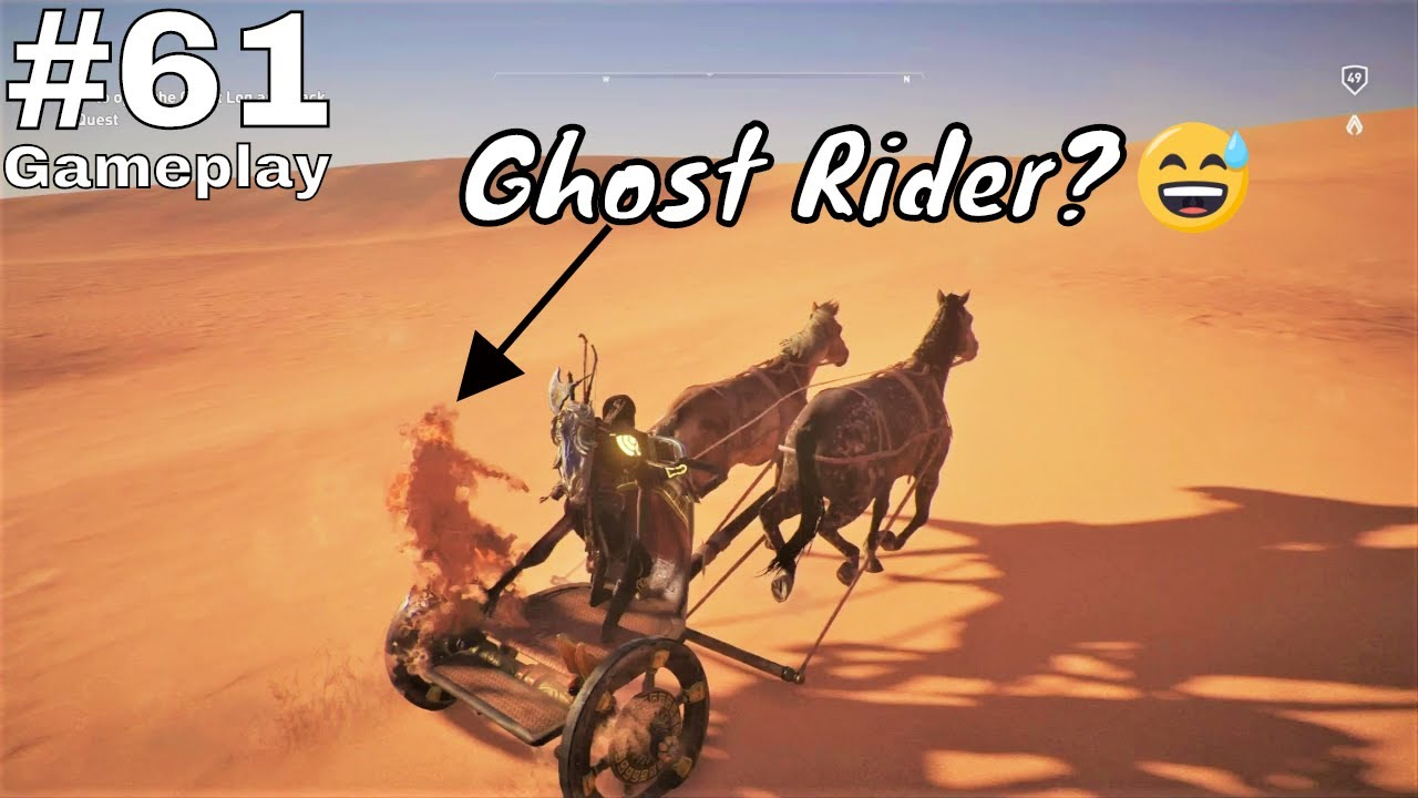 Assassin S Creed Origins Ps4 Pro Gameplay Part 61 Ghost Rider