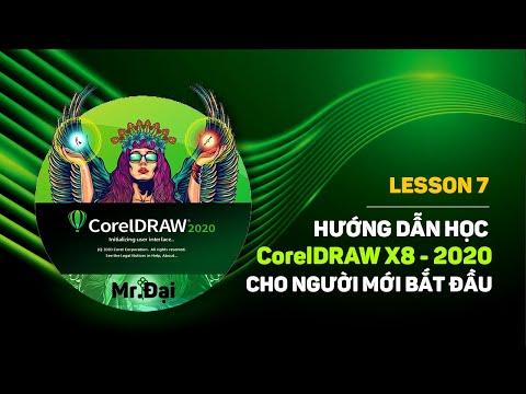 Lesson 7 Hướng dẫn sử dụng hộp công cụ Pick Tools trong CorelDRAW X8  Mr.Đại