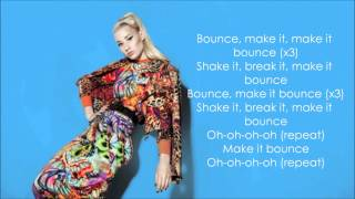 Iggy Azalea - Bounce LYRICS