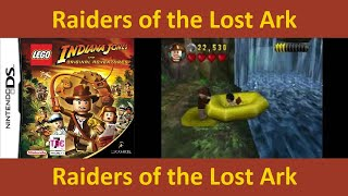Lego Indiana Jones DS Raiders of the Lost Ark Story playthrough