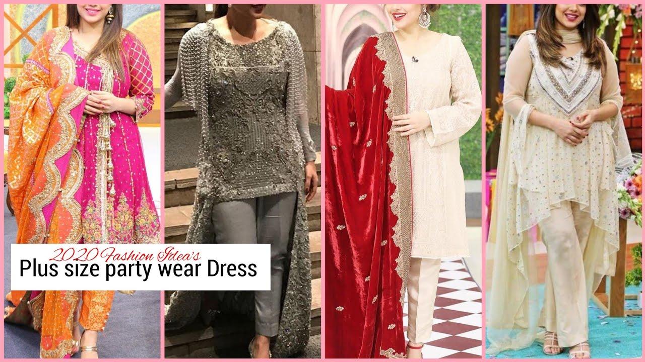 Top Trendy 50+ Women's Plus Size Party Wear dress,shlwar qmmeez,kurti,maxi Dress, Stitching Ide