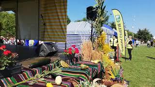 Dożynki 2019 Żółtańce  na boisku   niedziela województwo lubelskie