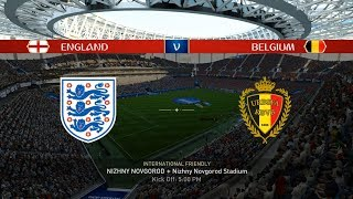 England vs Belgium - FIFA 18 Highlights