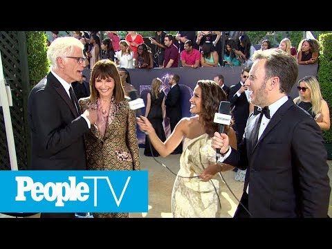 How Ted Danson And Mary Steenburgen Stay Inspired In Times Of Hardship  Emmys 2018  PeopleTV