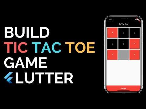 Flutter: Building A Tic Tac Toe Game From Scratch | Crash Course | Android | IOS |