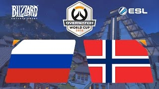 Overwatch - Russia vs. Norway - Overwatch World Cup - Playoffs