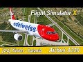 Microsoft Flight Simulator X Teil 928 Zürich - Catania   Edelweiss Airbus A320   IVAO   Liongamer1