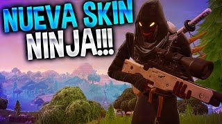 NUEVA SKIN de NINJA!! | Fortnite Battle Royale | Rubinho vlc