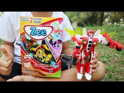 SUSU ZEE JUMBO - Dapat Hadiah Transformers Atau My Little Pony?