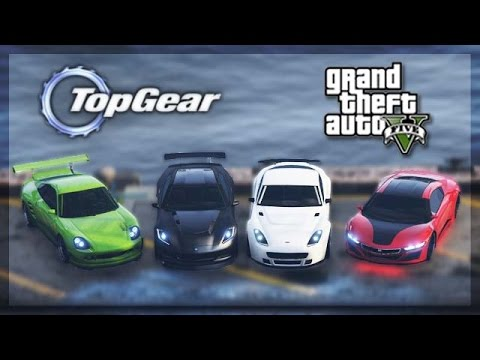 GTA 5 Online - (Top Gear Edition) Sports Cars Challenge!