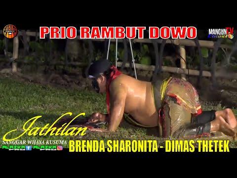 PRIO RAMBUT DOWO   BRENDA SHARONITA  DIMAS TETHEK LAGU JATHILAN SANGGAR WIJAYA KUSUMA VERSI JARANAN