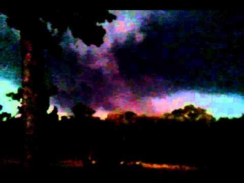 Storm over Oakwood TX  4/25/11