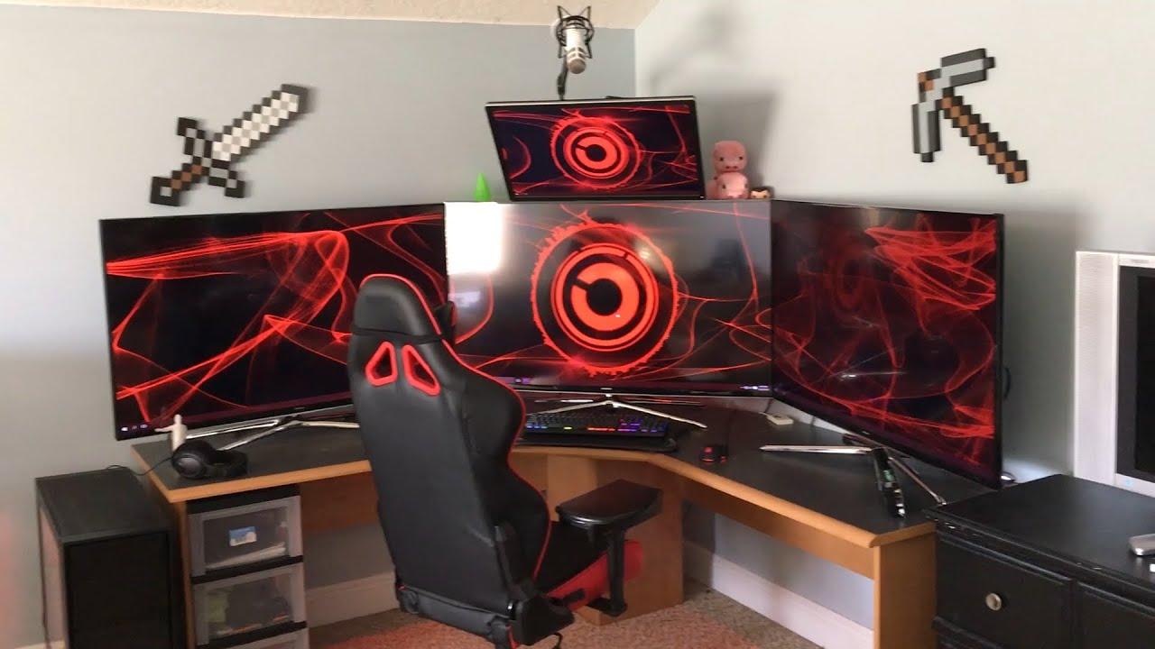 my setup tour overkill youtube. Black Bedroom Furniture Sets. Home Design Ideas