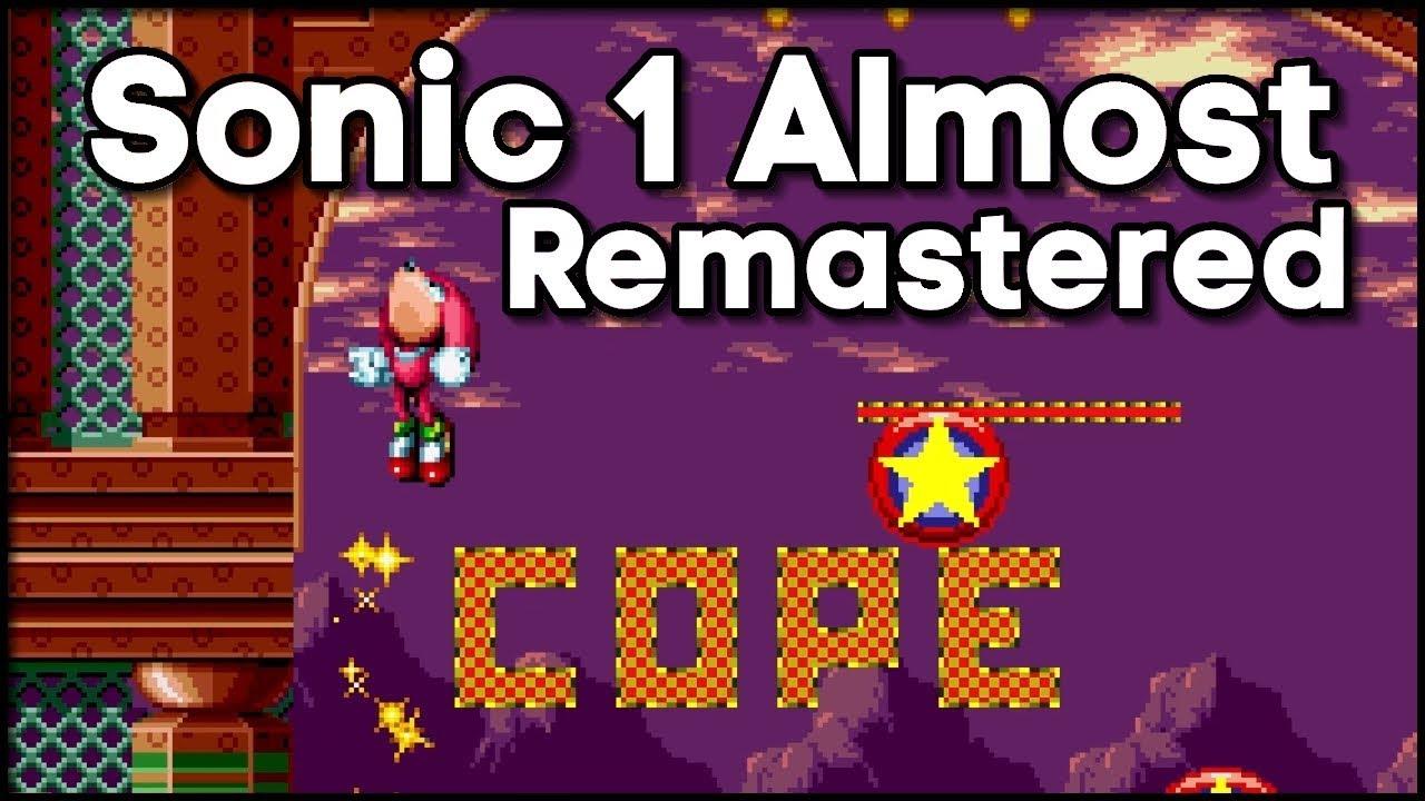 Sonic 1 Almost Remastered - Mod Showcase - Sonic Mania Plus