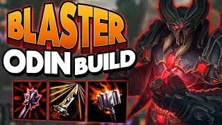 Smite: Blaster Odin Build - SO CLOSE TO THE ONE SHOT!
