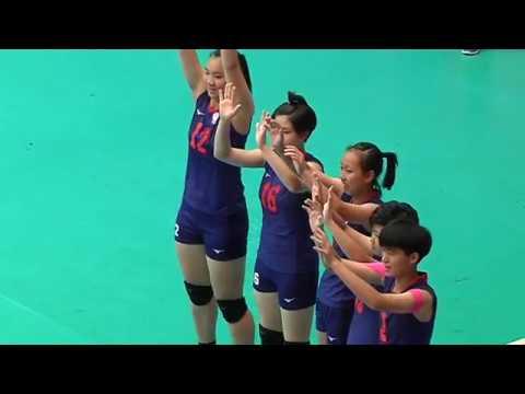 SMM 12th Asian Est Cola Women's U17 Volleyball Championship คู่ชิงที่ 5 ไตหวัน vs คาซัคฯ