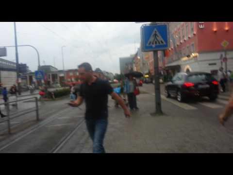 Hauptbahnhof München / Munich 22-07-16 Massenpanik Evakuierung - mass panic at central station