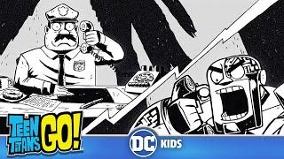 Teen Titans Go! in Italiano   Il racconto noir di Cyborg intorno al falò