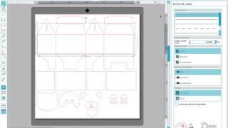 Silhouette Studio V3 - Vinco com meio corte