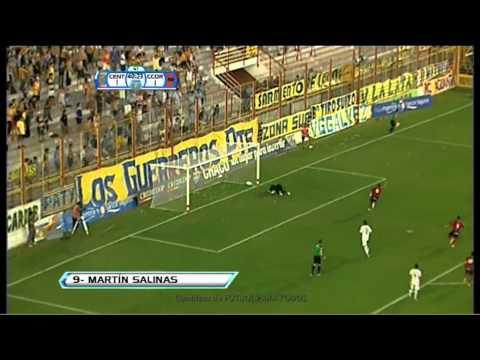 Gol de Salinas. Rosario Central 1 - Central Córdoba 2. 24avos de Final. Copa Argentina 2013. FPT
