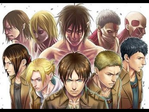 Top 10 Strongest Attack on Titan Shifters 2015 (OUT OF DATE)