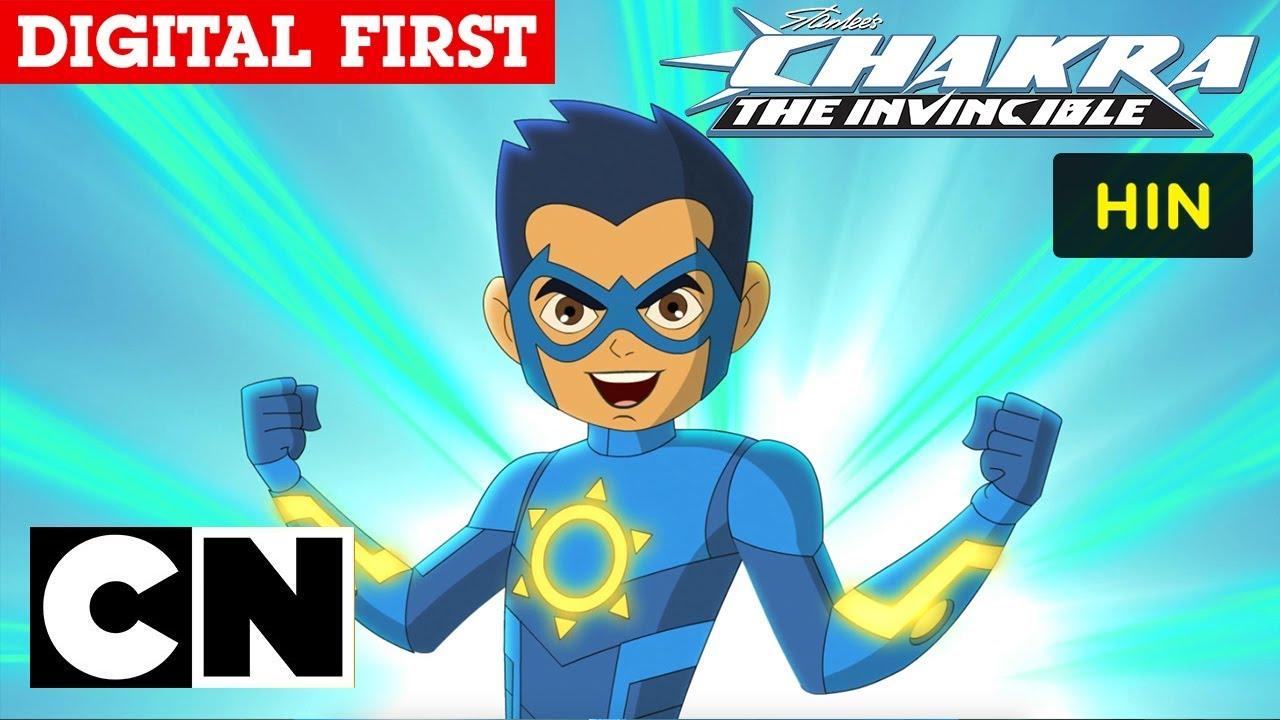 Stan Lee's Chakra - The Invincible   Root Chakra   Hindi   Cartoon Network