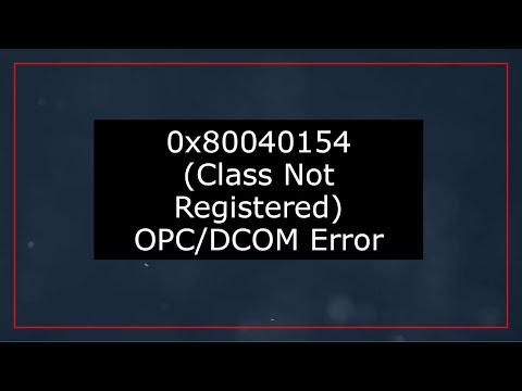 OPC Expert 0x80040154