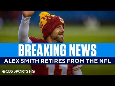 Alex Smith Retires from the NFL  CBS Sports HQ