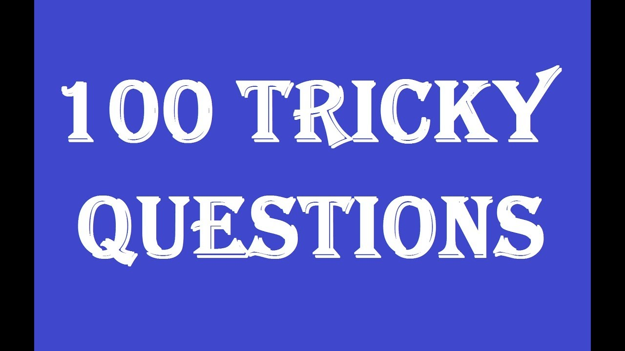 100 Tricky Questions With Answers I Funny Mind Trick