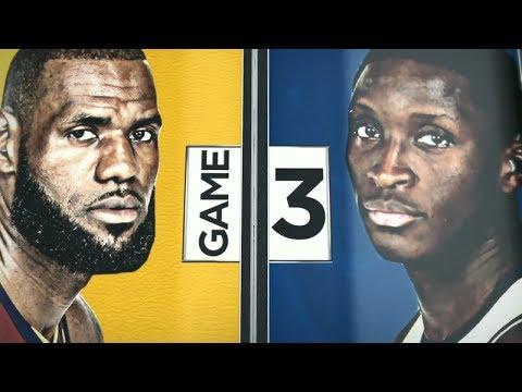 2018 NBA Playoffs Round1  Cavaliers vs Pacers Game 3  ESPN Intro