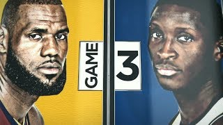 2018 NBA Playoffs Round1  Cavaliers vs Pacers Game 3  ESPN Intro