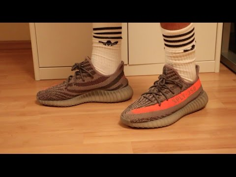 detailed look f5b4e 66baa ADIDAS YEEZY BOOST 350 V2 BELUGA!Unboxing + On Feet Review