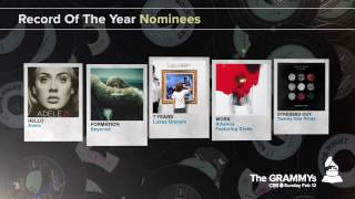 Record of The Year Nominees | The 59th GRAMMYs