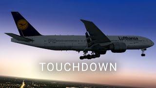 X-Plane 10 | Cinematic | Touchdown