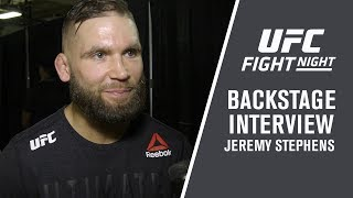 "Fight Night St. Louis: Jeremy Stephens - ""I Feel Amazing"""